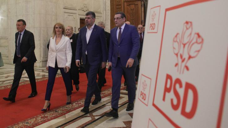 PSD decide, luni, data Congresului. Ciolacu: Săptămâna viitoare, anunţ dacă voi candida la şefia partidului / Foto: Inquam Photos / Octav Ganea