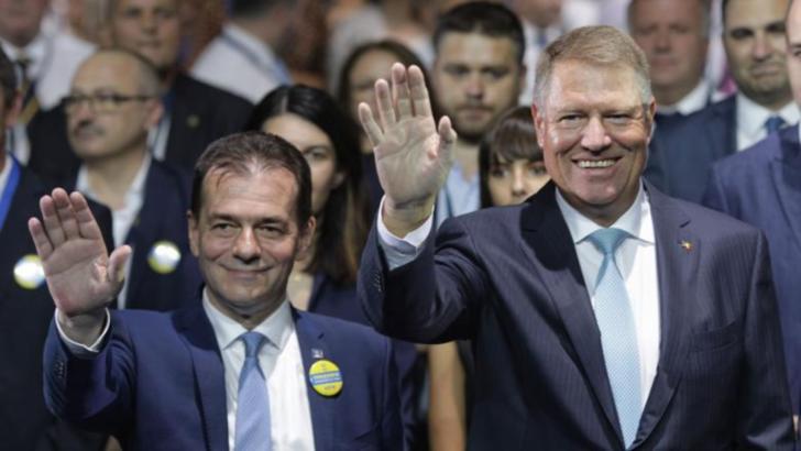 Ludovic Orban și Klaus Iohannis Foto: Inquam Photos / Octav Ganea