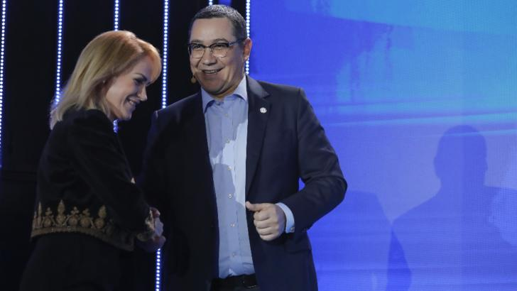 Victor Ponta și Gabriela Firea Foto: Inquam Photos / George Călin