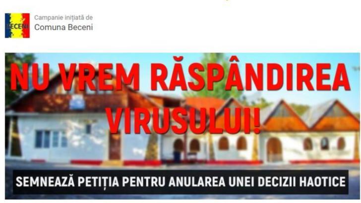 Revolta intr-o comuna buzoiana. Localnicii si primarul NU vor centru de carantina pentru coronavirus