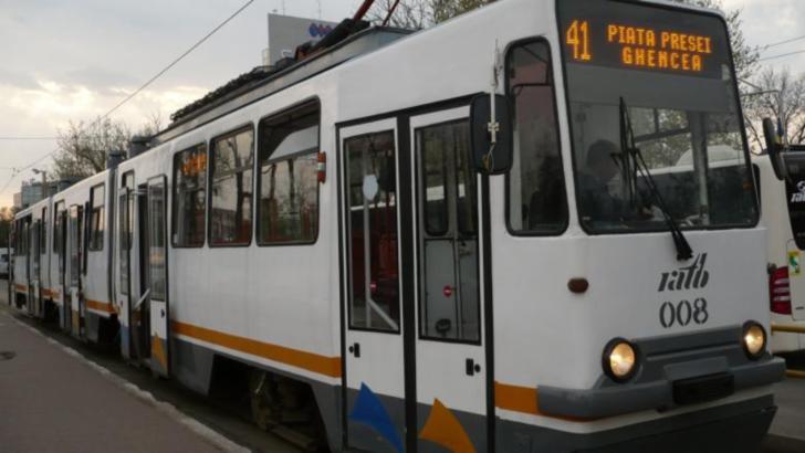 Tramvaiul 41 își reia circulația normală