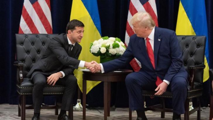 Volodimir Zelenski și Donald Trump