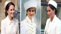 14 situații în care Meghan Markle și Kate Middleton au copiat-o pe Prințesa Diana și n-au dat greș