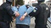 Infractor prins dupa ce a traversat ilegal
