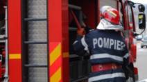 Incendiu devastator, în Capitală. Arde un depozit de anvelope din Cartierul Giulești. Risc de POLUARE