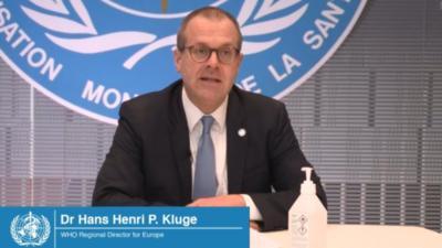 Hans Kluge, directorul OMS Europa / Foto: Facebook Hans Kluge