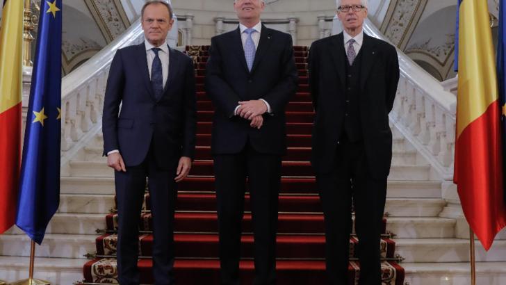 """Klaus Iohannis: premiul european """"Coudenhove-Kalergi"""" mă onorează"""