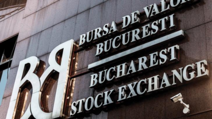 Bursa de la București a închis, astăzi, cu o nouă scădere importantă