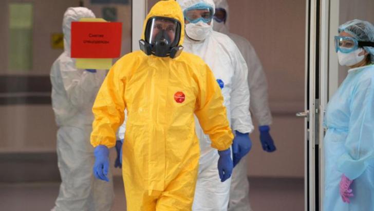 Vladimir Putin, echipat împotriva coronavirusului
