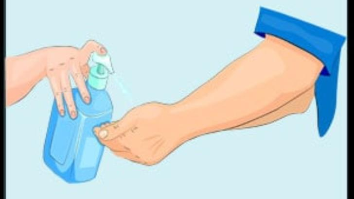 VIDEO Cum facem un dezinfectant acasa