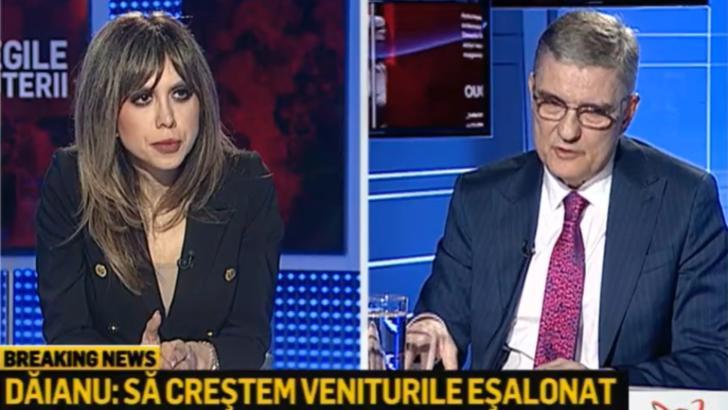 Daniel Daianu, presedinte Consiliul Fiscal, la Realitatea PLUS