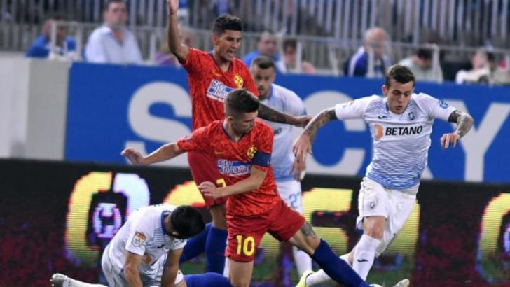 FCSB a făcut spectacol pe Arena Națională! Universitatea Craiova, în genunchi!