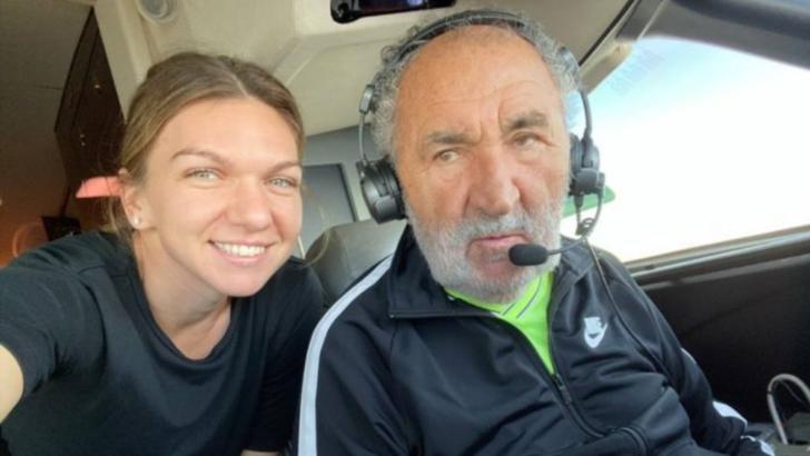 """Simona Halep l-a păcălit pe Ion Țiriac! Răspunsul afaceristului: """"O aștept la colț"""""""
