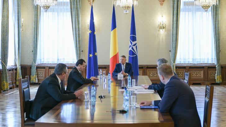 Coronavirus. Iohannis, ședință de urgență cu Orban, Vela și Costache și directorii de spitale Foto: presidency.ro