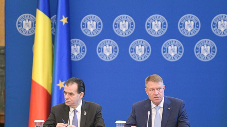 Coronavirus. Iohannis, sedinta de urgenta cu Orban, Vela si Costache si directorii de spitale
