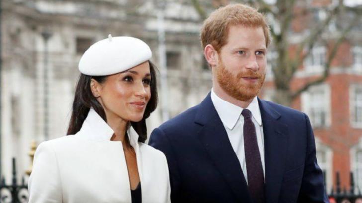 Prințul Harry și soția sa, Meghan Markle