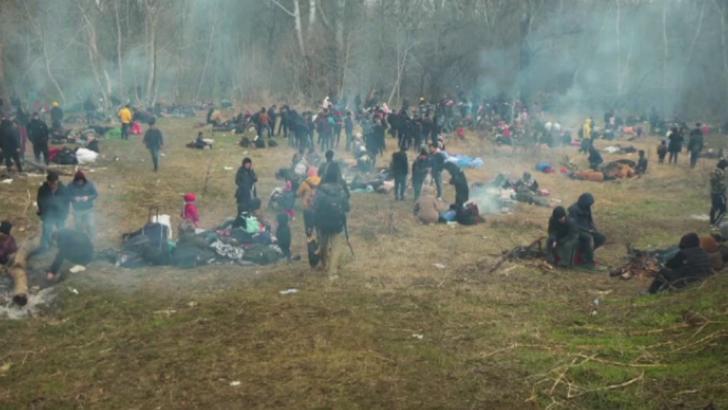 Criza migranților la granița Greciei cu Turcia