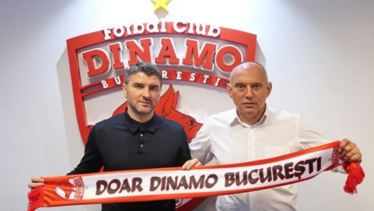"""Dinamo are antrenor! Mihalcea: """"Sunt emoţionat ca în prima zi!"""""""