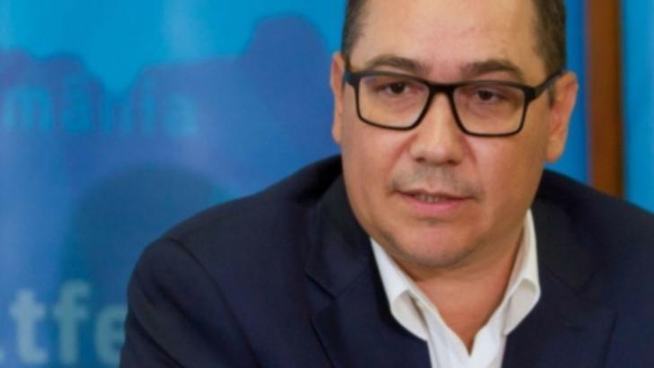 Ponta împușcă încă o declarație iresponsabilă