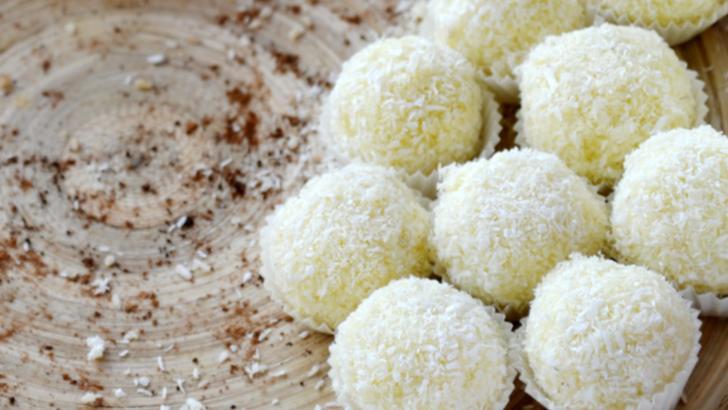 Dulciuri de post. Trufe și bomboane Raffaello