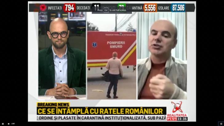"Rares Bogdan, la Realitatea PLUS: -Guvernul nu a actionat autoritar in relatia cu bancile"""