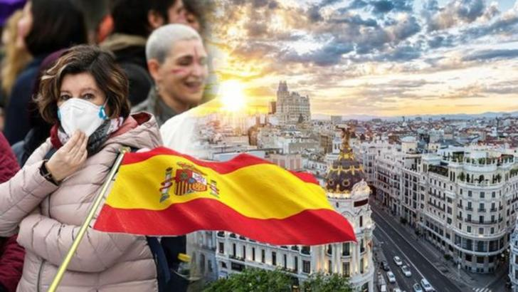 Bilant Spania - Sute de morți în ultimele 24 de ore - Ritm de creștere asemănător cu cel din Italia