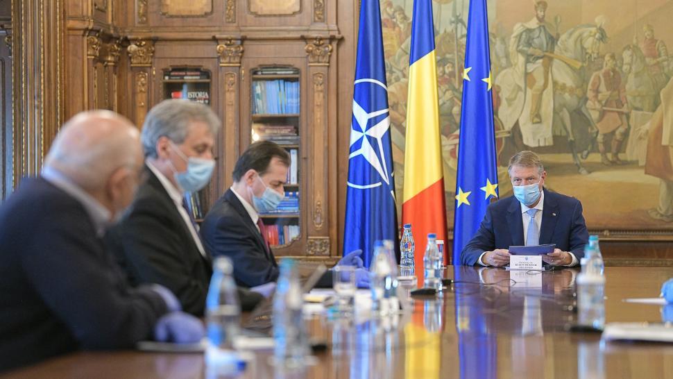 Iohannis, față în față cu mai mulți miniștri, la Cotroceni: noi MĂSURI pentru populație
