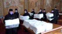 Peste 7 milioane de lei pentru ajutorarea celor afectați de pandemie, oferiți de Patriarhia Română Foto: basilica.ro