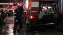 Incendiu la Spitalul Județean Botoșani, centru pentru pacienți COVID-19