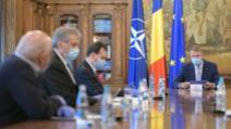 Klaus Iohannis, intalnire cu Ludovic Orban