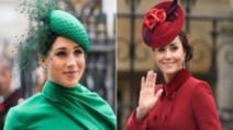 De ce Kate Middleton poartă bijuterii din colecția reginei Elisabeta a II-a și Meghan Markle nu