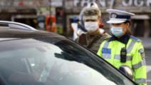 politia cu masti razie