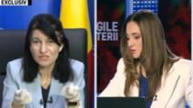 "Violeta Alexandru, ministrul Muncii, la ""Legile puterii"""