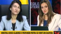 "Ministrul Muncii, Violeta Alexandru, la ""Legile puterii"""