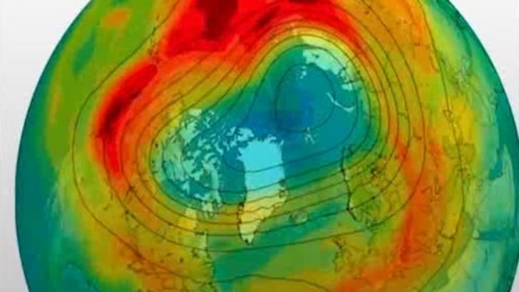 Ce mai mare gaura în stratul de ozon s-a închis