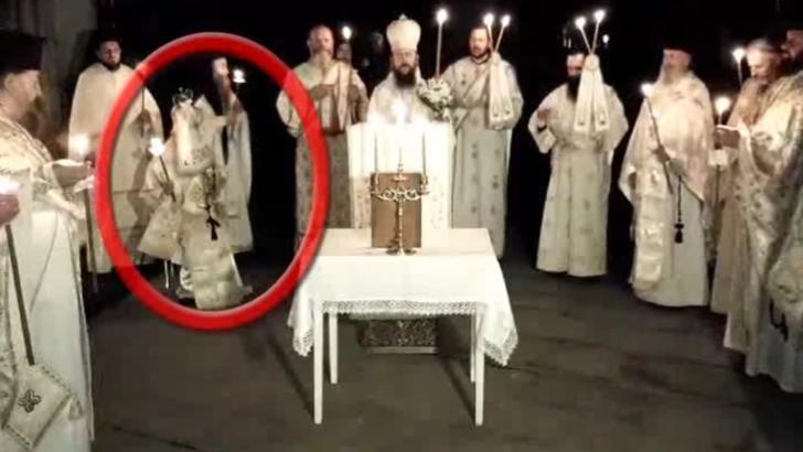 Anchetă epidemiologică la vârful Bisericii: ÎPS Pimen, confirmat cu COVID-19, surprins la slujbă înconjurat de preoți