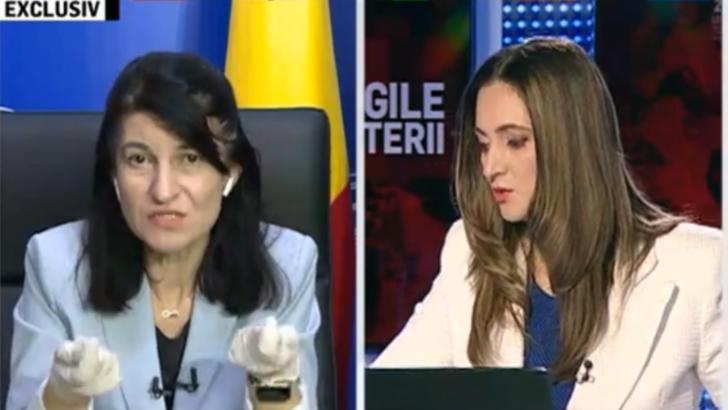 """-Legile puterii"""", Ministrul Muncii, Violeta Alexandru, atac la Marian Oprisan: Nu facem politica pe problemele oamenilor!"""