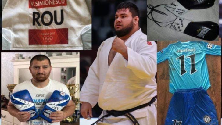 Ce sumă s-a strâns la licitația organizată de judoka Vlăduț Simionescu și ce se cumpara cu banii