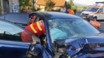 Tragedie în Timiș: un mort și doi răniți, după impactul nimicitor cu un TIR