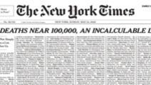 New York Times dedică prima pagină victimelor coronavirusului: a umplut-o cu nume de persoane decedate