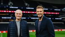 Beckham si mourinho