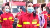 Medicul ieșean Georgiana Matei, alături de colegii cu care a fost în misiunea din Republica Moldova