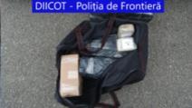Peste 50 de kg heroină, în cabina unui TIR la granița cu Bulgaria Foto: DIICOT