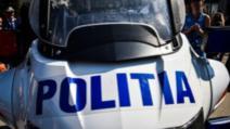 Accident șocant, în Capitală: polițist pe motocicletă, lovit de un autobuz al cărui șofer băuse
