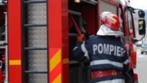 Incendiu devastator, în Capitală: fum negru dens, deasupra zonei Viilor