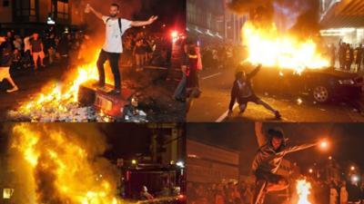 Haos în Statele Unite - Proteste în mai multe orașe, 7 persoane au fost împușcate