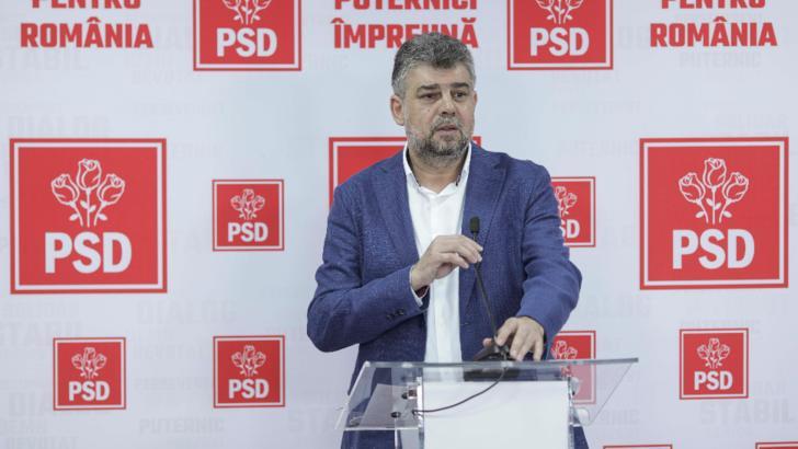 Marcel Ciolacu, președintele PSD Foto: Inquam Photos