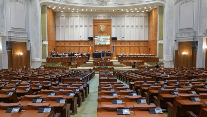 Parlament, dezbateri în plen