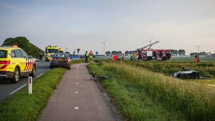 Accident rutier în Olanda: doi români morți și alți patru răniți Foto: RTLNieuws