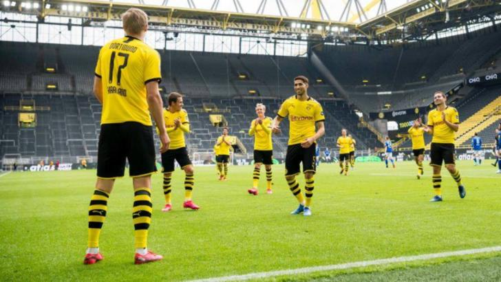 VIDEO   S-a întors fotbalul spectacol! Goluri multe în Bundesliga! Victorie la scor pentru Dortmund